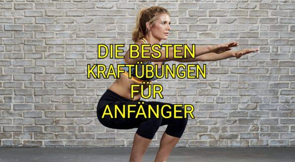 DIE BESTEN ÜBUNGEN FÜR ANFÄNGER