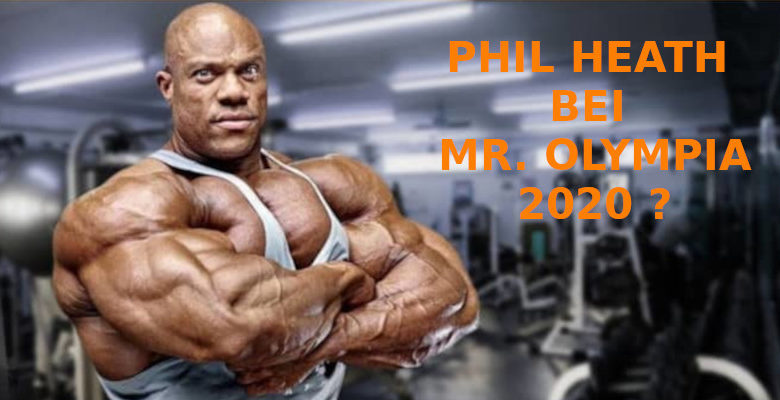Phil Heath mr olympia 2020 banner