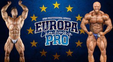 ifbb EUROPA PRO 2020